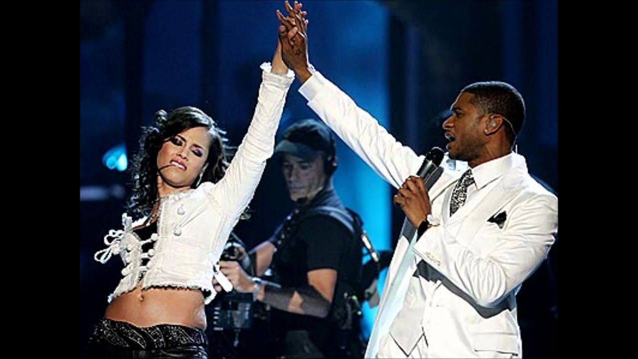 Did usher date Alicia Keys