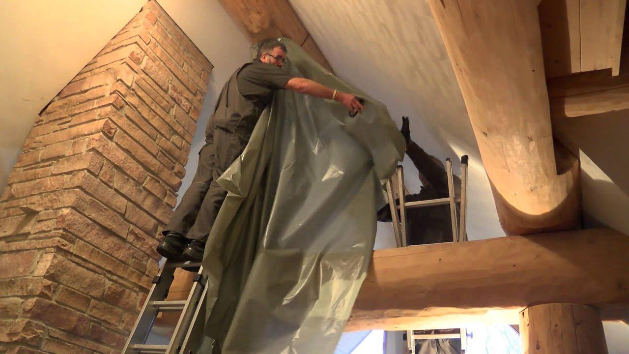 holzschutz mit w rmebehandlung thermoverfahren mit umluft fen youtube. Black Bedroom Furniture Sets. Home Design Ideas