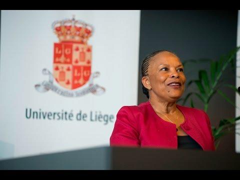 Christiane Taubira rencontre les étudiants de l'ULg