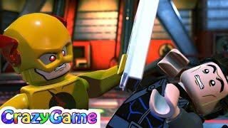 LEGO DC Super Villains Gameplay Walkthrough Part 3 - Beast Boy Boss Fight (4K)   CRAZYGAMINGHUB