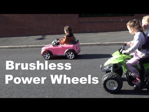 HPIGUY Brushless Power Wheels Conversion \u003d Fun - YouTube