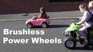 HPIGUY   Brushless Power Wheels Conversion = Fun