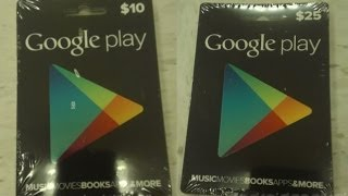 Free Google Play Codes - Free Google Play Gift Cards