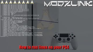 How to run linux on your PS4
