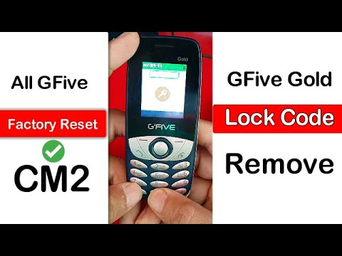 How To Remove GFive Gold Password || Lock Code || Factory Reset