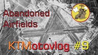 KTMotovlog #9 - RAF Beaulieu's Abandoned WW2 Airfield