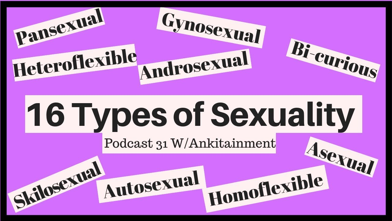 Types of sexuality pansexual