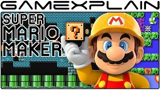 Super Mario Maker - Fan Creates 40-Level Mario Adventure