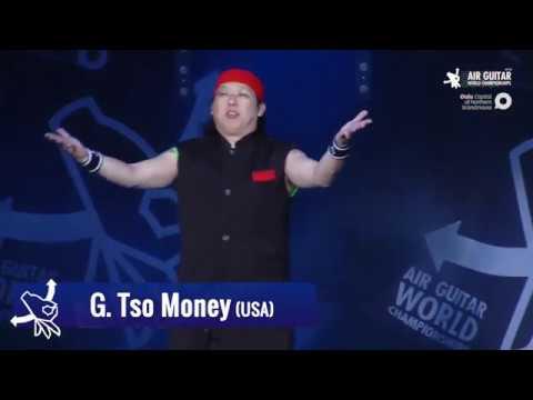 "Download Del-Kun ""G. Tso Money"" Dave Chen (TWN) 2017 Air Guitar World Championships"