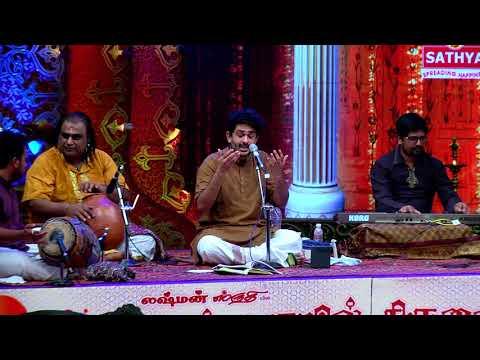 Sid Sriram at Chennaiyil Thiruvaiyaru Festival - Nila Kaigirathu & Maruvarthai Pesathe