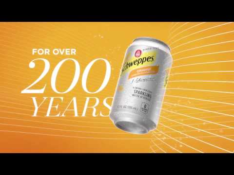 Schweppes Sparkling Water - Say Hello