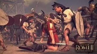 Total War - Rome II 1720 лучников VS 120 отборных мечников