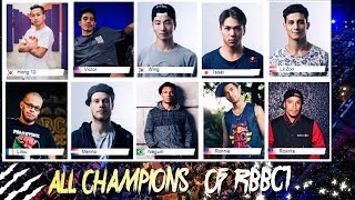 ALL CHAMPIONS OF RED BULL BC ONE