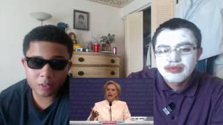 donald trump vs hillary clinton third debate cold open snl reaction