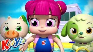 детские песни | Песня про купание + Еще! | KiiYii | мультфильмы для детей