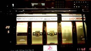 Bonus with retrigger on Triple 777 2-cent slot - Red Hot Jackpots Progressive - IGT