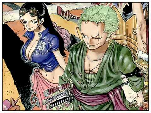 Robin x zoro nami x luffy youtube - One piece luffy x robin ...