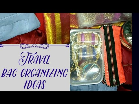 Travel bag organizing ideas in tamil