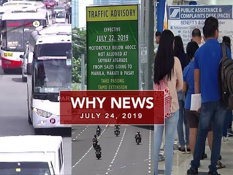 UNTV: Why News (July 24, 2019)