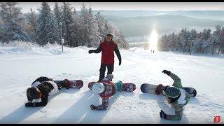 Школа сноуборда | Сезон 10 урок 3 | Укладка на переднем канту