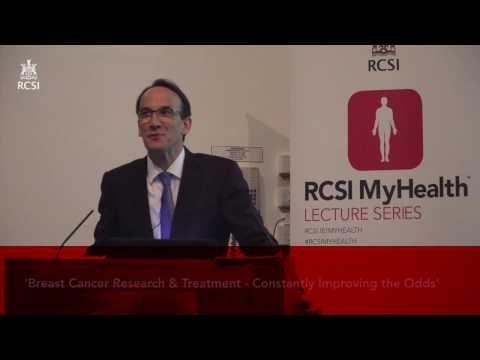 Breast Cancer Research & Treatment, Constantly Improving The Odds - Prof Arnold Hill (Part 1)