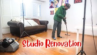 Renovating my Studio (again) | VLOG