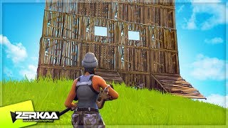 THE BIGGEST SOLO FORTNITE BASE! (Fortnite Battle Royale)