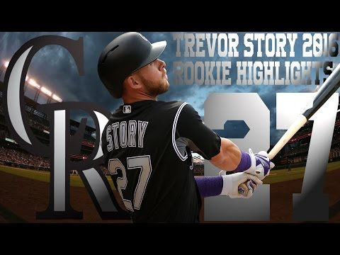 Trevor Story | Colorado Rockies | 2016 Rookie Highlights Mix ᴴᴰ