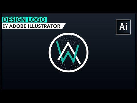 Adobe Illustrator Logo tutorial ||Alan Walker Logo design