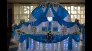 оформление зала для свадьбы г. Минск