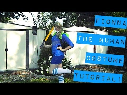 Fionna The Human Costume Tutorial! & Fionna The Human Costume Tutorial! - YouTube