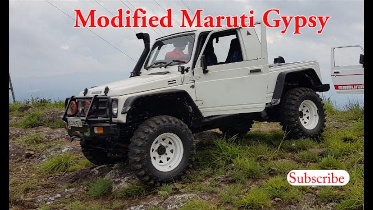 Modified Maruti Gypsy