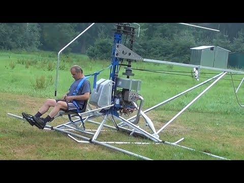 Самодельный вертолёт самолет