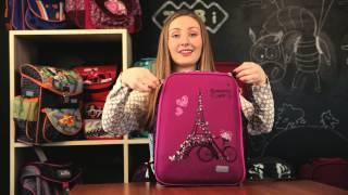 Обзор Школьных рюкзаков ZiBi, модель Shell для девочек