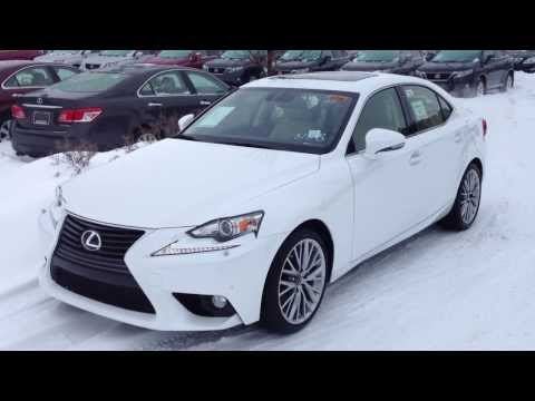 2014 Lexus IS 250 AWD White on Parchment Luxury Package Review