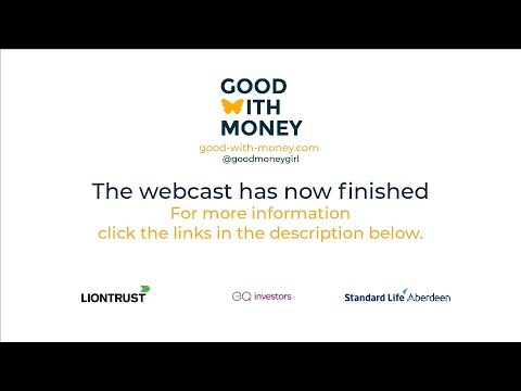 What are the most profitable trends in sustainable investing? - Live at 1pm BST