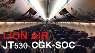 LION AIR JT530 FLIGHT EXPERIENCE JAKARTA TO SOLO