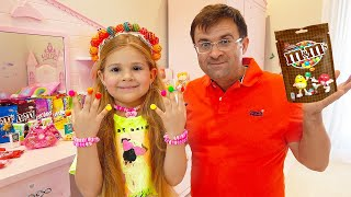 Download Diana and Dad Pretend Play Candy salon
