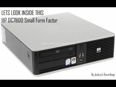 Inside the HP DC7800 SFF