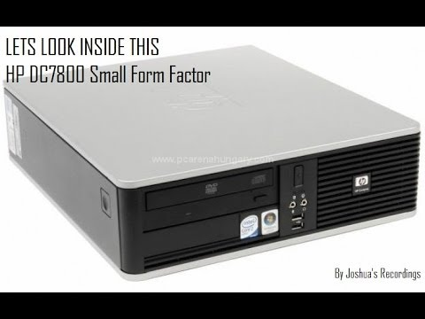 Inside the HP DC7800 SFF