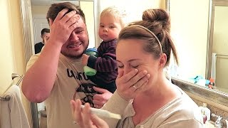 PREGNANCY TEST REACTION! thumbnail