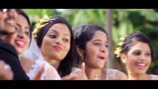 Arun weds Chrystal : 23 November 2015, Manglorean wedding
