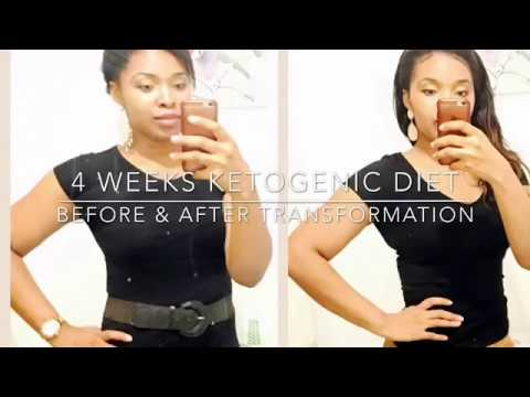 4 weeks Ketogenic Diet Transformation : Before and After - YouTube