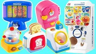 扭蛋之麵包超人迷你生活家電 趣味過家家玩具 Anpanman Gashapon pop'n house sets アンパンマン ポップンハウス3