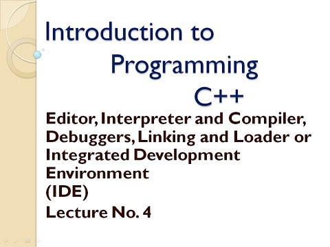 integrated development environment (editor / loader /  interpreter /compiler/linker/loader )