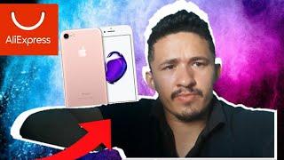 (UNBOXING ALIEXPRESS) IPHONE 7 ME FERREI?  :(