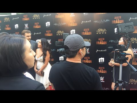BIRTH OF THE DRAGON Red Carpet (The Bruce Lee Story) Live