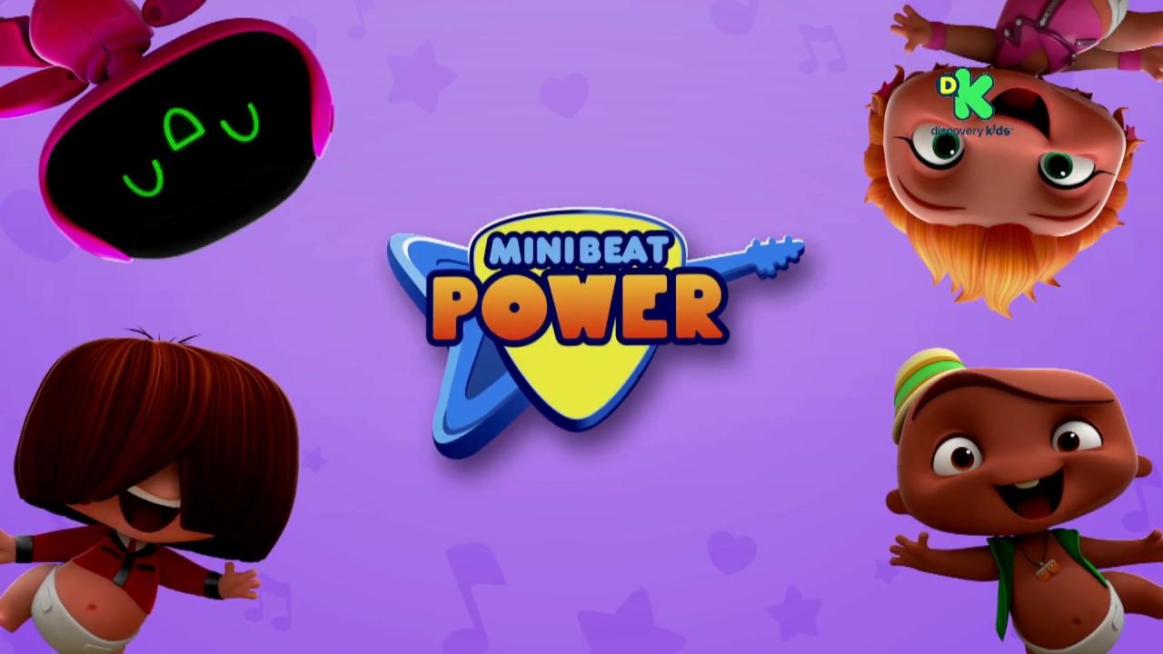 Conoce La Nueva Serie Mini Beat Power Rockers Youtube
