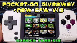 POCKET-GO GiveAway + CFW v1.3 quick look & screen tear fix