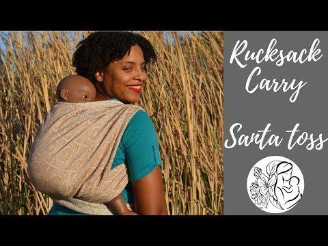 Rucksack Back Carry, Santa Toss